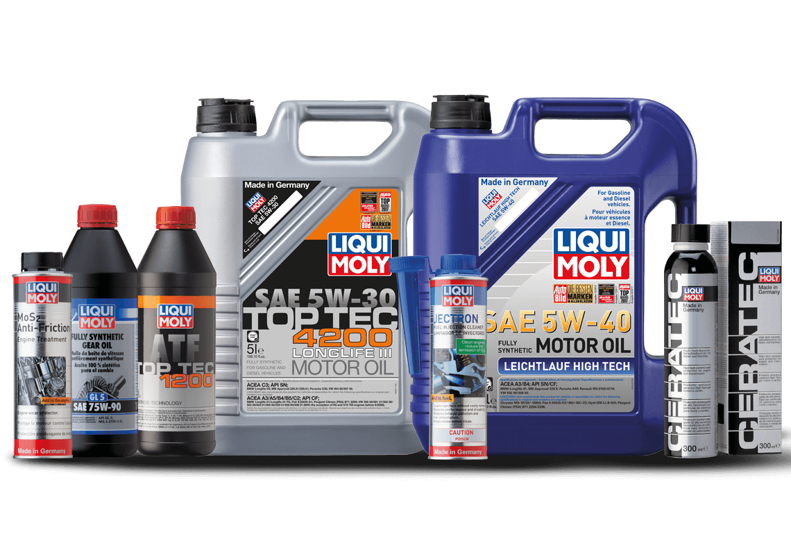 LIQUI MOLY products